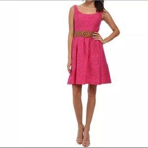 Nine West Rose A-Line Belted Sheath Dress 2 NWT